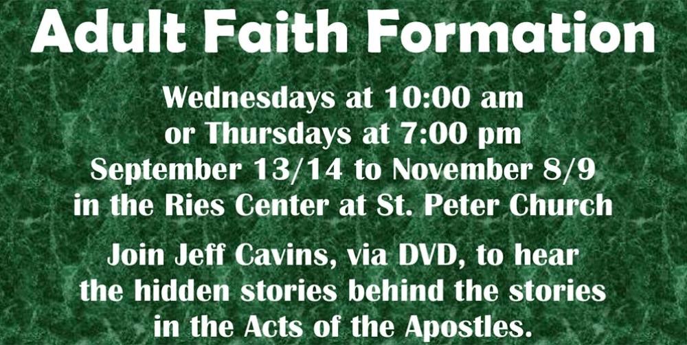 Adult-Faith-Formation