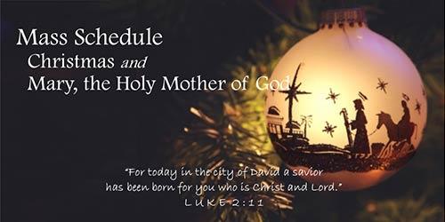 December-Mass-Schedule
